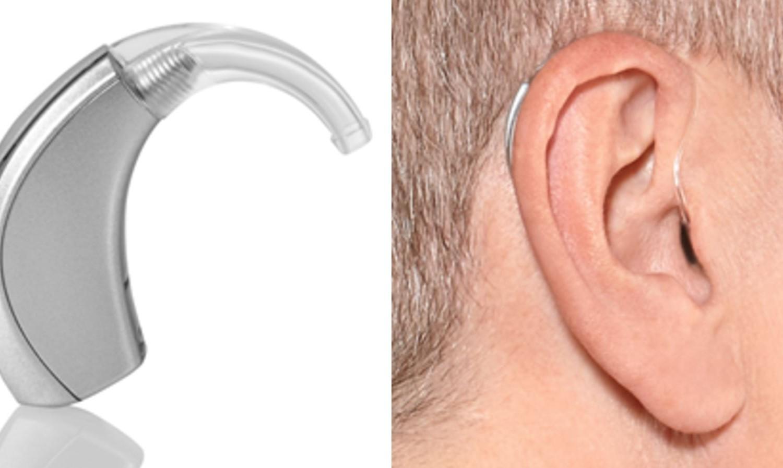 behind the ear hearing aid BTE