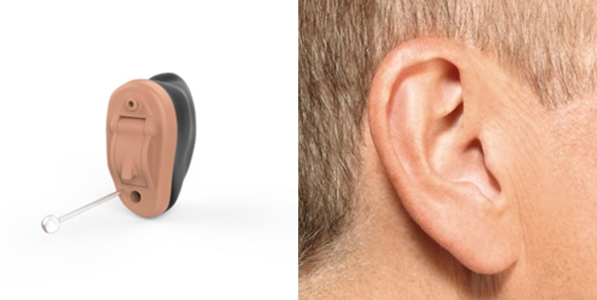 Invisible in the Canal IIC hearing aids
