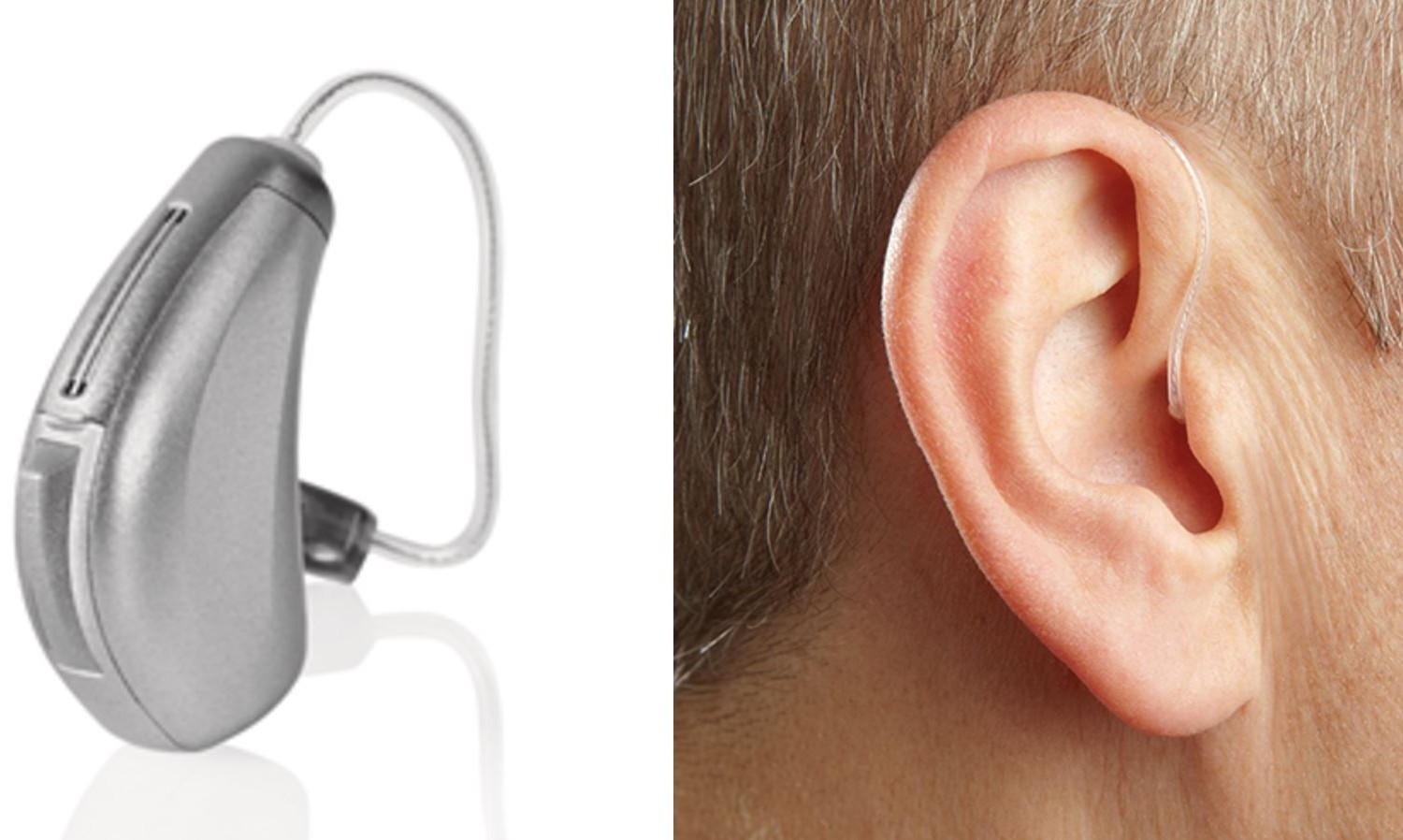 Open and Receiver in canal hearing aids RIC
